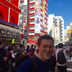 日本秋葉原街頭留影